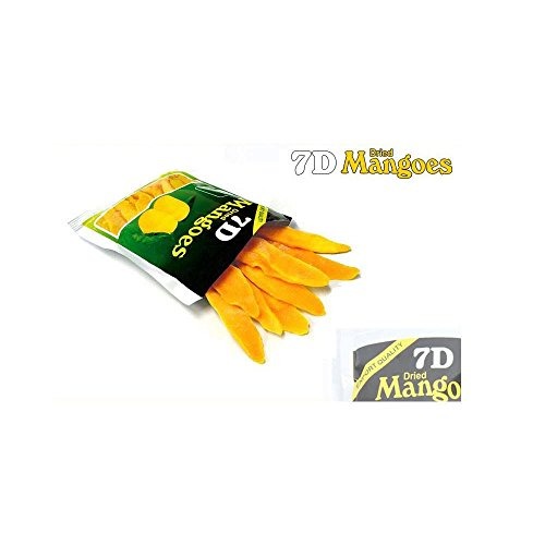 New Export Quality Dry fruit, Delicious 7D Dried Mangoes snack x 15pcs by 7D (Image #1)