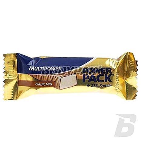 Multipower Power Pack 1 barrita x 35 gr - Sabor - Chocolate con Leche: Amazon.es: Salud y cuidado personal