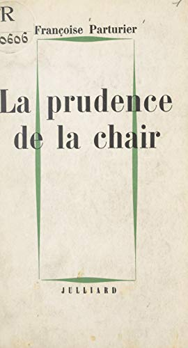 La Prudence De La Chair French Edition Kindle Edition By