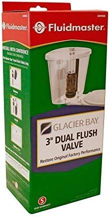 Fluidmaster Cable pulsador doble V/álvula de descarga de repuesto sello