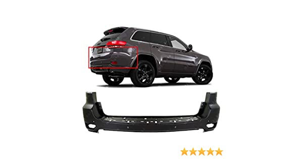 NorthAutoParts 68214368AB Fits Jeep Grand Cherokee Primered Rear Bumper Cover CH1100985