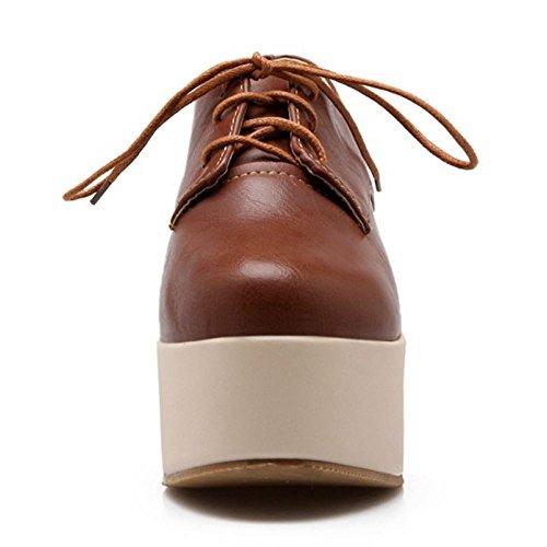 Moda Zapatos Mujer Brown Melady Flatform 85qAwcUB