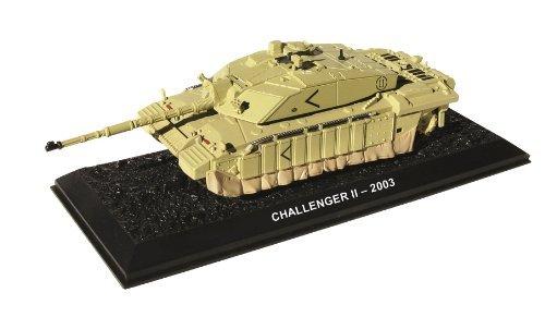 Challenger II - 2003 diecast 1:72 British tank model (Amercom BG-20)