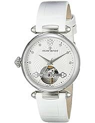 Claude Bernard Womens 85022 3 APN Dress Code Analog Display Swiss Automatic White Watch