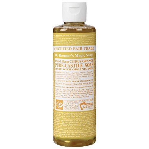Dr Bronner Organic Citrus Castile Liquid Soap 237ml