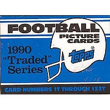 Factory Traded Topps - 1990 Topps Football Traded Factory Set with Emmitt Smith's Rookie Card!