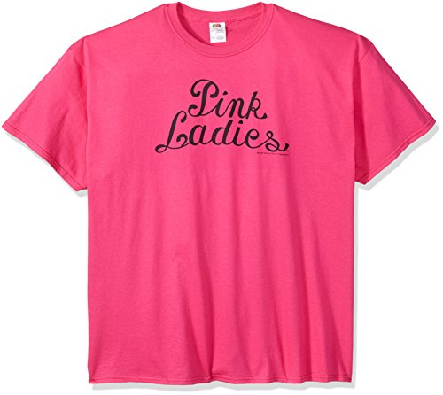 Trevco Men's Grease Pink Ladies Logo T-Shirt