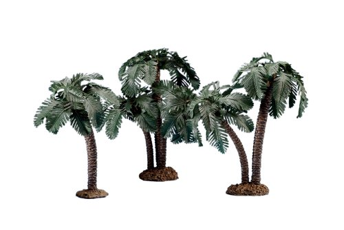 - Fontanini by Roman Palm Trees Nativity Figurine, Set of 3, 5-Inch Each