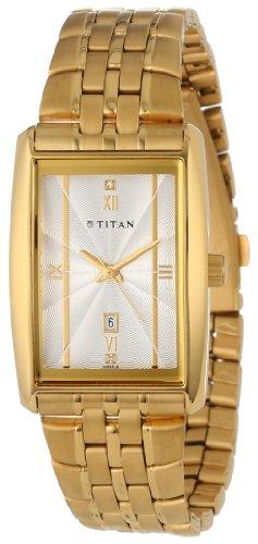 Titan Men's 1560YM01 Tycoon Series Date Function Watch