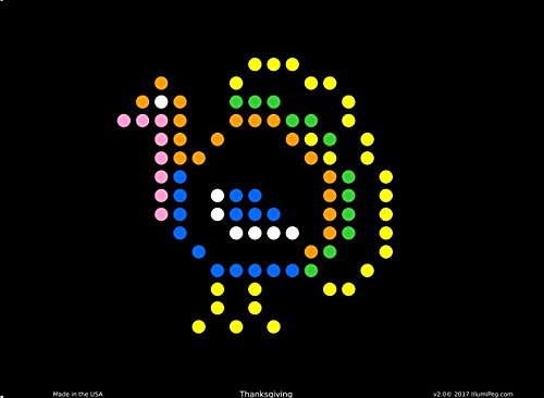 Lite Brite Refill: Holiday (12 sheets) for Create With Light / Magic Screen - see pictures for compatible model