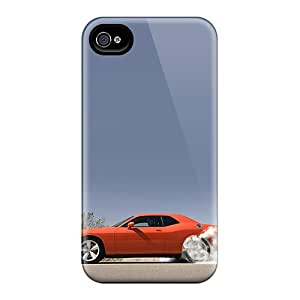 KennethKaczmarek Iphone 4/4s Scratch Resistant Cell-phone Hard Covers Unique Design HD Dodge Challenger Series [ZVC11852gTGU]