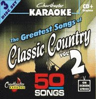 Karaoke Music CDG: Chartbuster Karaoke CDG CB5030 The Greatest Songs of Classic Country Vol. 2 (Just The Two Of Us Original Version)