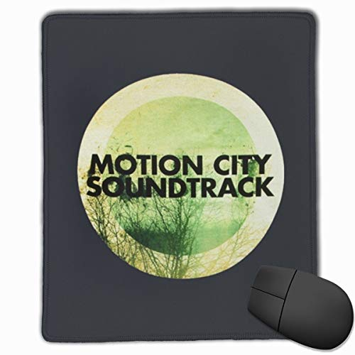 MGGPXXXI Motion City Soundtrack Cool Mousepad Desktop Laptop Mouse Pad Waterproof Keyboard Pad Thick Extended Mat for Office/Home&Gamer