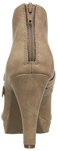 Platform Boot Kenneth Bootie Film Taupe Heeled Women's Code by Fashion Unlisted Cole 4nFU6wq