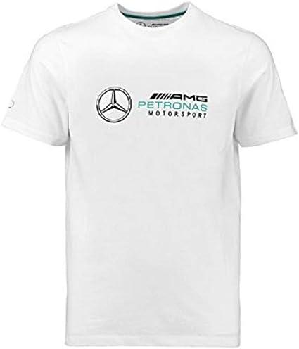 Mercedes Benz AMG Petronas Formula 1 Mens Gray Logo T-Shirt