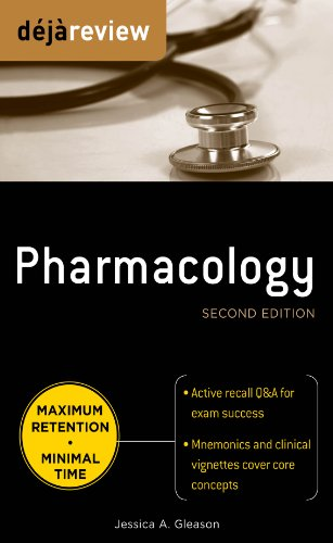 - Deja Review Pharmacology, Second Edition