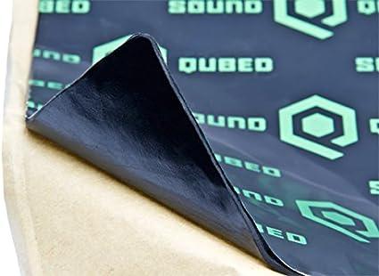 SoundQubed Q-Mat Sound Deadening Mat 16 sqft Audio Insulation