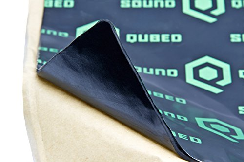 SoundQubed Q-Mat Sound Deadening Mat 16 sqft, Audio Insulation