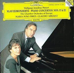 """Afficher """"Piano concertos Nos. 17 & 21"""""""