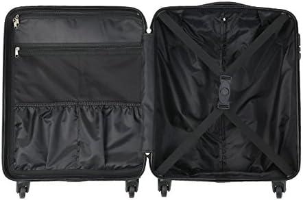 Rose Gold Jet2 EasyJet et Autres Compagnies A/ériennes Cabin Max Toronto Trolley Rigide Leger en ABS avec 4 Roues Pivotantes /à 360/° Etihad Valise /à Cabine Approuv/é pour Vols Thomson
