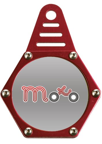 Viper Moto Accessories A220  Motorcycle Accessories Tax Disc Holder Tax Hexagon, Red, One Motohart UK Ltd