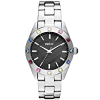 DKNY NY8718 Ladies Essentials & Glitz Silver Watch by DKNY