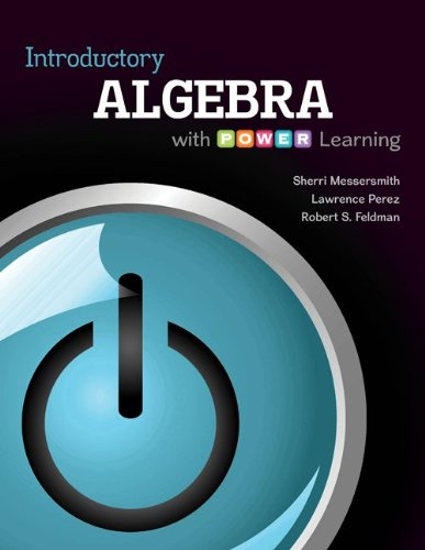 Introductory Algebra with P.O.W.E.R. Learning with Connect hosted by ALEKS Access Card 52 Weeks
