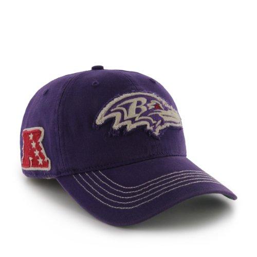 NFL Baltimore Ravens Badger Garment Washed Flex Hat by '47 (Ravens Nfl Applique)