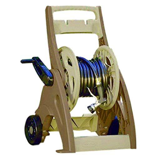 BS Water Hose Reel Cart 175 Ft Patio Garden Wheels Hoses Holder Storage Planting Easylink System Durable Contemporary Design & eBook by BADA Shop