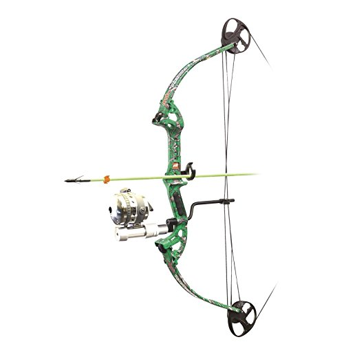 New 2017 PSE Discovery 2 Muzzy Bowfishing Package RTS Kit Green #1714BZRGN3040