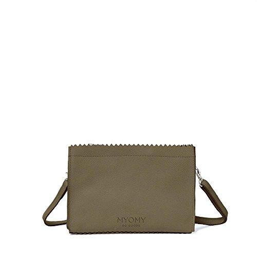 MYOMY My Paper Bag, Borsa a tracolla donna verde Rambler Dark Oliv