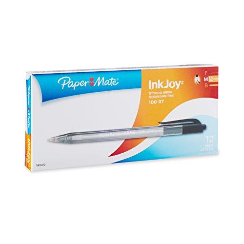 paper-mate-inkjoy-100rt-ballpoint-pen-retractable-black-single-1803472