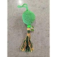Llavero Crochet Verde