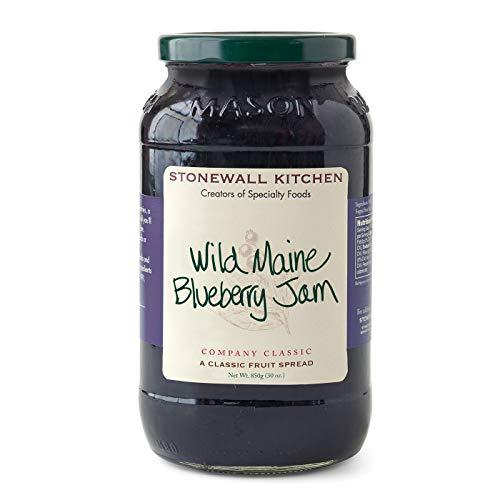 Stonewall Kitchen Wild Maine Blueberry Jam, (30 Ounce)