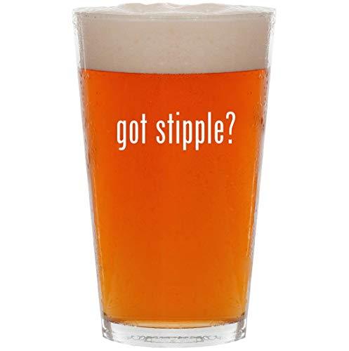 (got stipple? - 16oz All Purpose Pint Beer Glass)