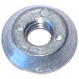 10mm Spanner Nut Zinc (6 pieces)