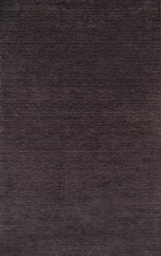 Momeni Rugs GRAMEGM-12CHR2030 Gramercy Collection, 100% Wool Hand Loomed Contemporary Area Rug, 2' x 3', Charcoal