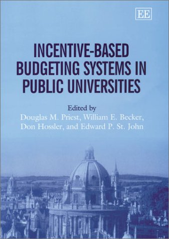 Incentive-Based Budgeting Systems in Public Universities