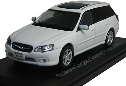 Ixo 1/43 SUBARU スバル レガシィ ツーリングワゴン BP型 2003 白