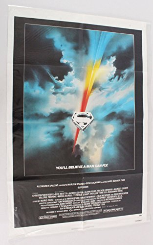 1978 Superman Movie Poster One Sheet 780011