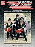 zz top sheet music - Hal Leonard Essential ZZ Top Easy Guitar Tab Songbook