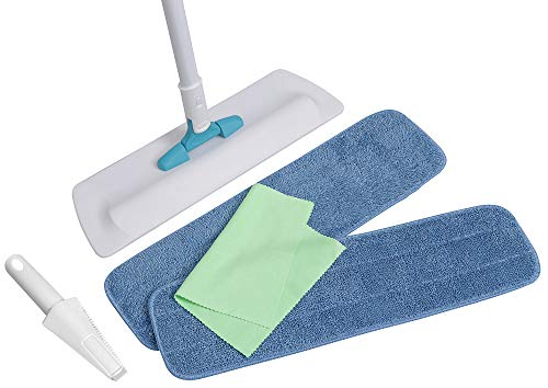 Microfiber Pros Floor Mop With 2 of our Premier 18