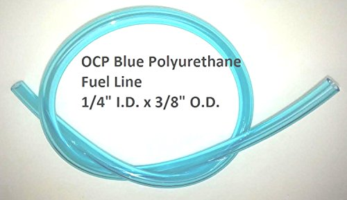 Blue Polyurethane Fuel Line 1/4in. I.D. x 25 ft. 714B-5