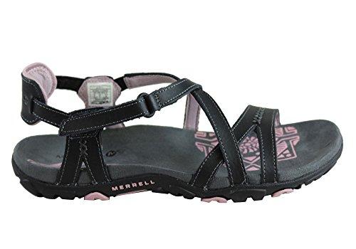 Merrell Women's, Sandspur Rose Sandals Black 8 M - Merrell Womens Casual Sandals