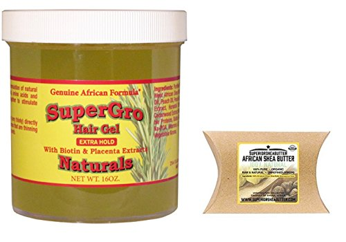 African Formula Super Grow Hair Gel Extra Hold with
