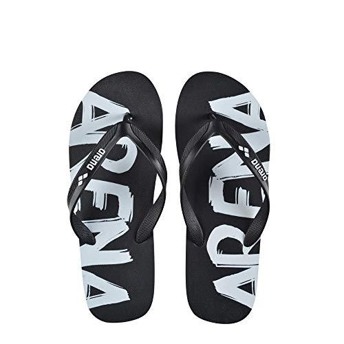 ARENA Flip Flop Sandalias, Unisex Adulto, Negro (Black), 38
