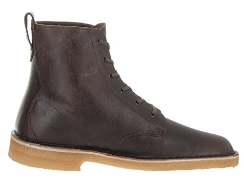 Clarks Menns Ørkenen Mali Chukka Boot Rust Lær