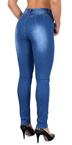 Skinny Jean S900 Jean Femmes Taille by Normale Femme J378 Push tex up Pantalon Jeans tA5wRq