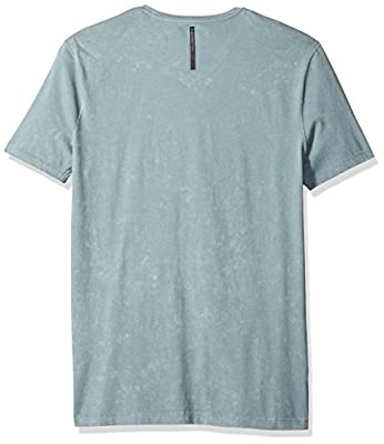 Calvin Klein Jeans Men's Short Sleeve Snakeskin Logo V-Neck T-Shirt