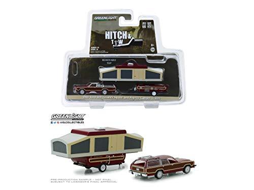 1:64 Love Gift 16 1981 F0rd LTD Squire Wagon & Pop-up Camper NIP Rare Diecast Vehicle Trailer ()